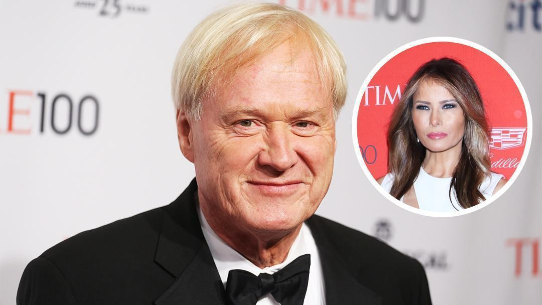 MSNBC's Chris Matthews Caught on Hot Mic Ogling Melania Trump