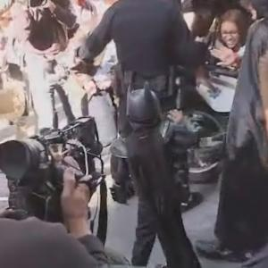Raw Video: The Riddler Arrested Following Action By Batkid As Crowds Cheer