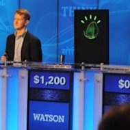 Watson playing Jeopardy