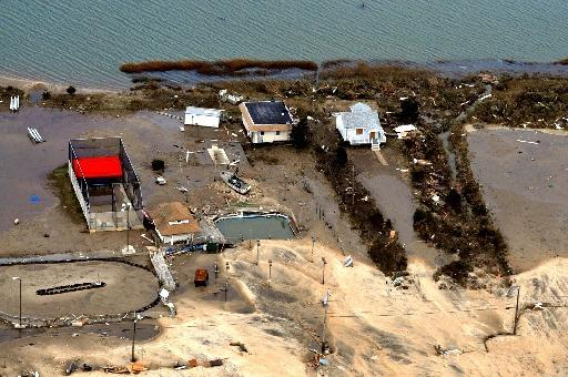 Pollution & Debris Stirred by Sandy Threaten Coastal Waters