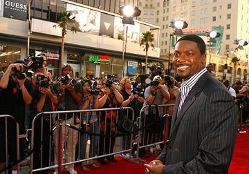 Chris Tucker at the Hollywood premiere of New Line Cinema's Rush Hour 3 -7/29/2007 Photo: Jeff Vespa, Wireimage.com