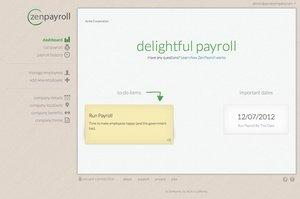 ZenPayroll Launches Modern, Automated Cloud Payroll Service