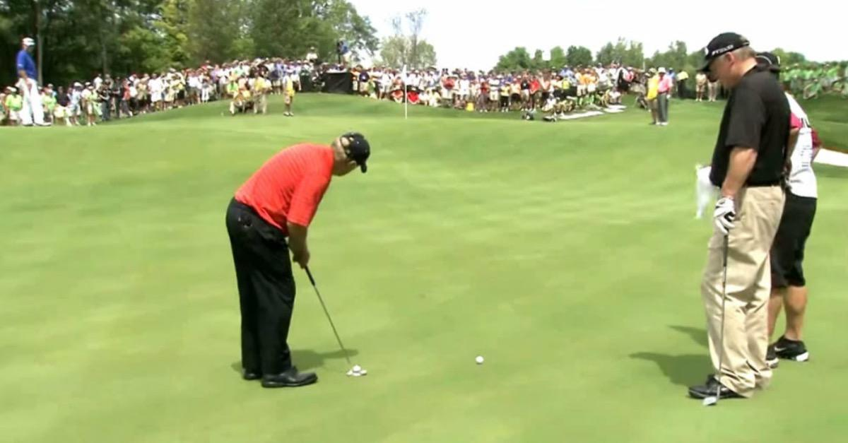 MUST SEE Golf Golf Shot of The Year!