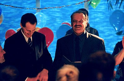 Sam Shepard and Jack Nicholson in Warner Brothers' The Pledge