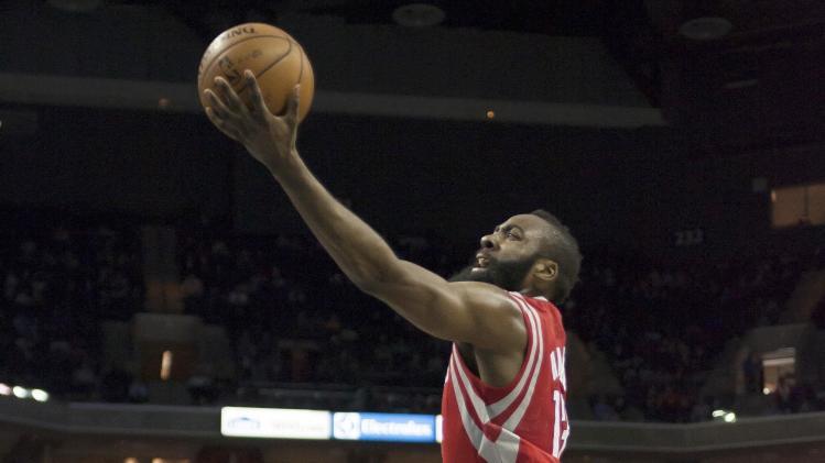 NBA: Houston Rockets at Charlotte Bobcats