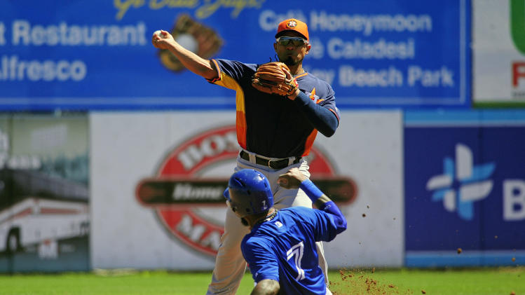 MLB: Spring Training-Houston Astros at Toronto Blue Jays
