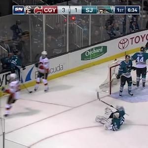 Backlund's goal increases lead