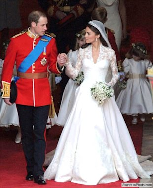 Prince William Kate wedding dress