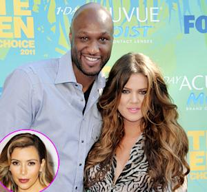 Khloe Kardashian Wasn't Trying to Get Pregnant, Have a Baby With Lamar Odom, Says Kim Kardashian