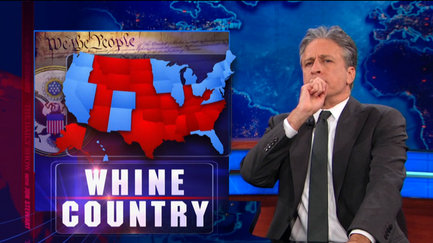 Go Ahead and Secede, Jon Stewart Won't Stop You