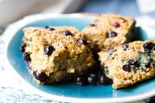 Blueberry Chia Seed Bread