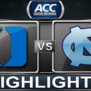 Duke vs UNC | 2014 ACC Women's Basketball Highlights