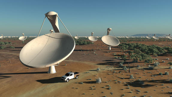 World's Largest Radio Telescope to Be Shared by South Africa, Australia
