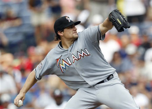Jones, Freeman lead Braves past Marlins 6-1