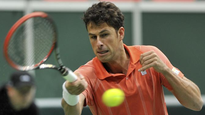 Czechs tied 1-1 with Netherlands in Davis Cup