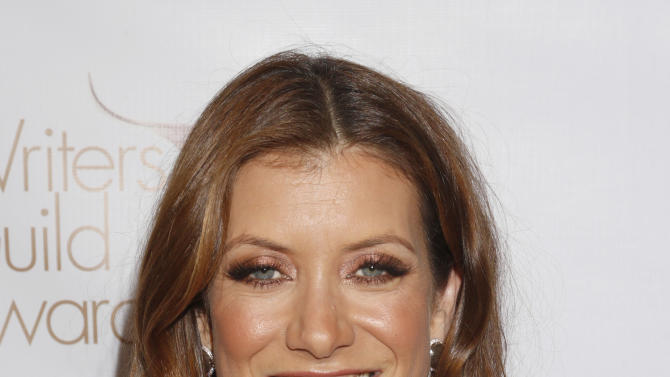 Kate Walsh attends the 2013 Writers Guild Awards at the JW Marriott on Sunday, Feb. 17., 2013 in Los Angeles. (Photo by Todd Williamson/Invision/AP)