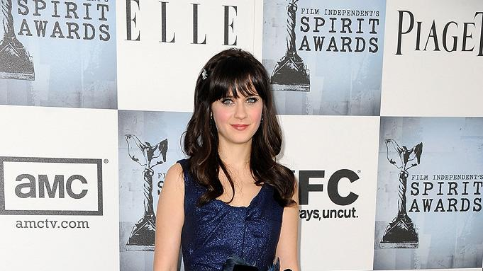 Film Independent's 2009 Independent Spirit Awards Zooey Deschanel