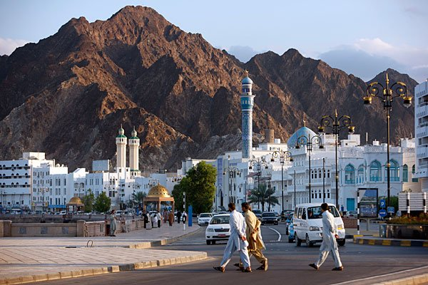Oman Like neighboring Middle Eastern countries, Oman derives the majority of its revenue from crude oil.   The country's oil revenues increased 35 percent  in April to $8.49 billion compared to the sa