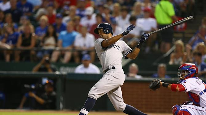 Baseball - Yankees into record books with 21-5 Rangers rout