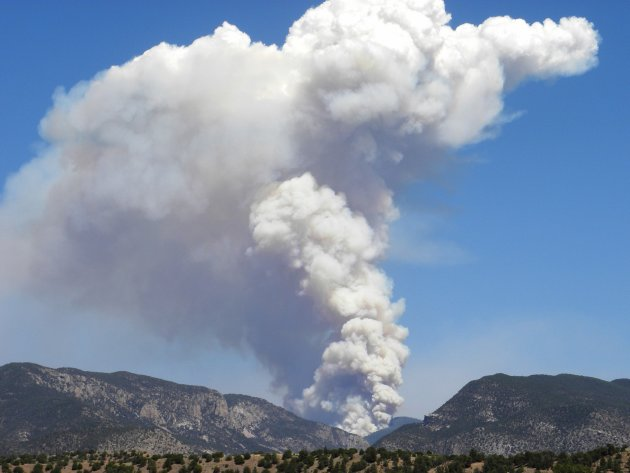 Massive Wildfire Becomes Largest In New Mexico History