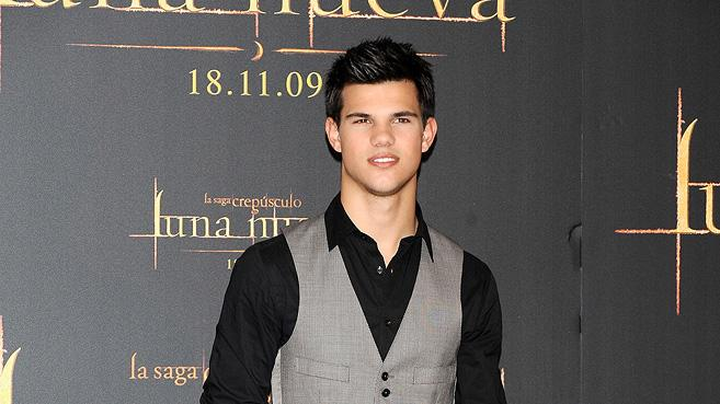 New Moon Press Tour 2009 Taylor Lautner