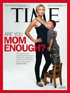 time breastfeeding cover sparks controversy the cutline