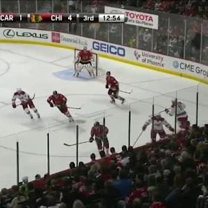 Chris Terry Hit on Michal Rozsival (07:08/3rd)
