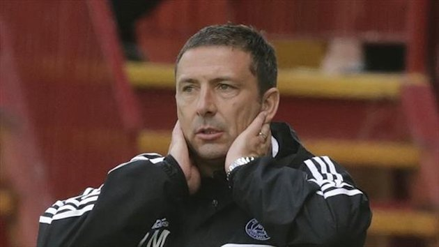 Derek McInnes felt Aberdeen were 'tepid' in the first half but improved in the second