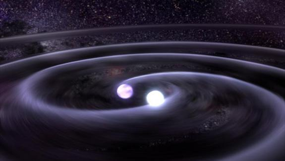 Gravity Waves Give Twin Stars Speed Boost, Scientists Say