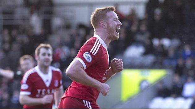 Scottish Football - Rooney edges Aberdeen into semi-final