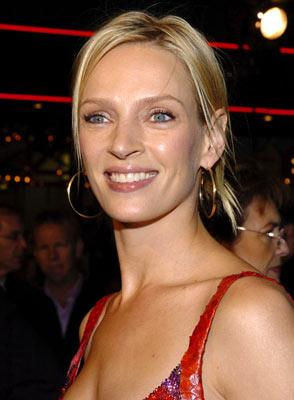 Uma Thurman at the Hollywood premiere of MGM's Be Cool