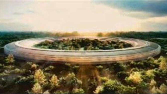 Officials in Calif. city endorse Apple campus plan