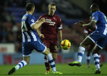 Soccer - Sky Bet Championship - Wigan Athletic v Derby County - DW Stadium