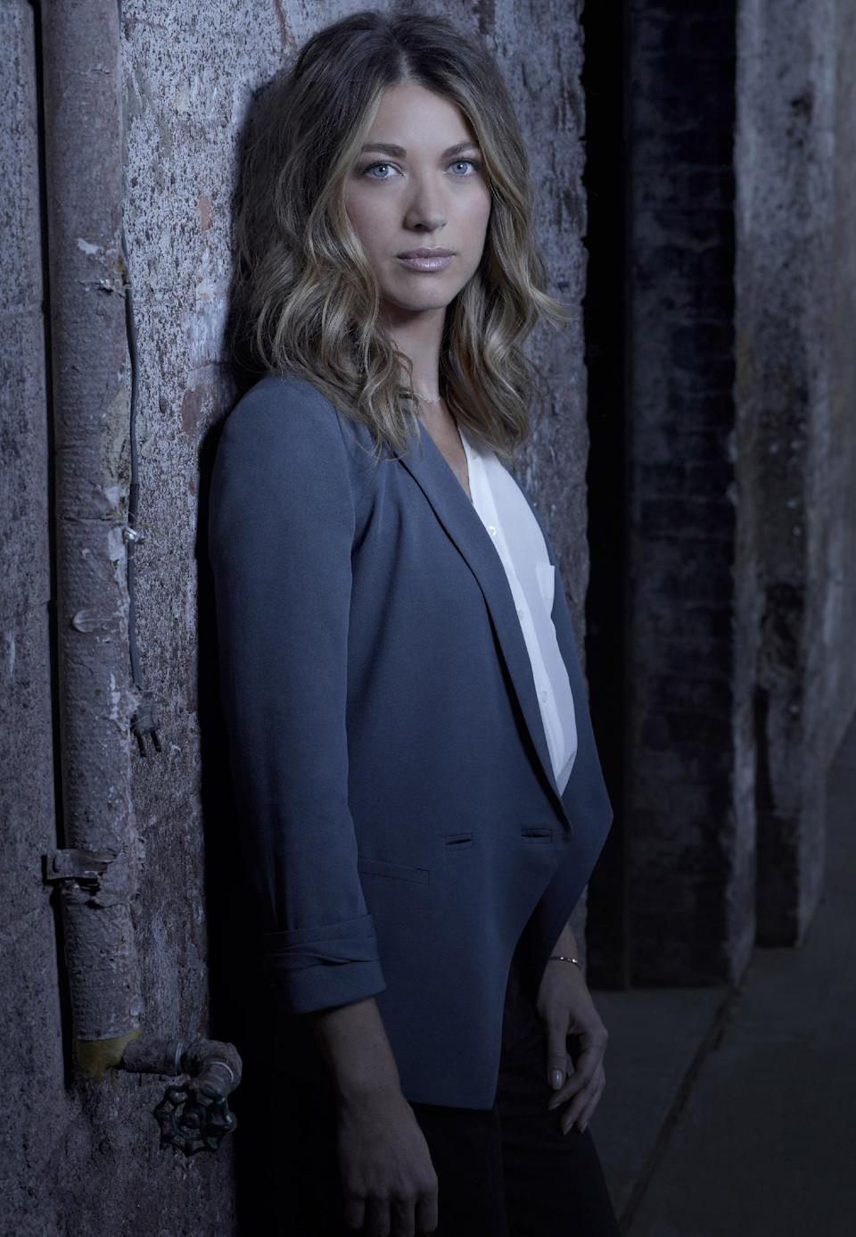 "This undated publicity photo released by FOX shows Natalie Zea as Claire Matthews in ""The Following,"" premiering Monday, Jan. 21, 2013,  (9:00-10:00 PM ET/PT) on FOX.  (AP Photo/FOX, Michael Lavine)"