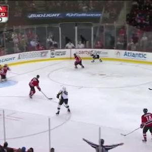 Cory Schneider Save on Patric Hornqvist (03:36/3rd)