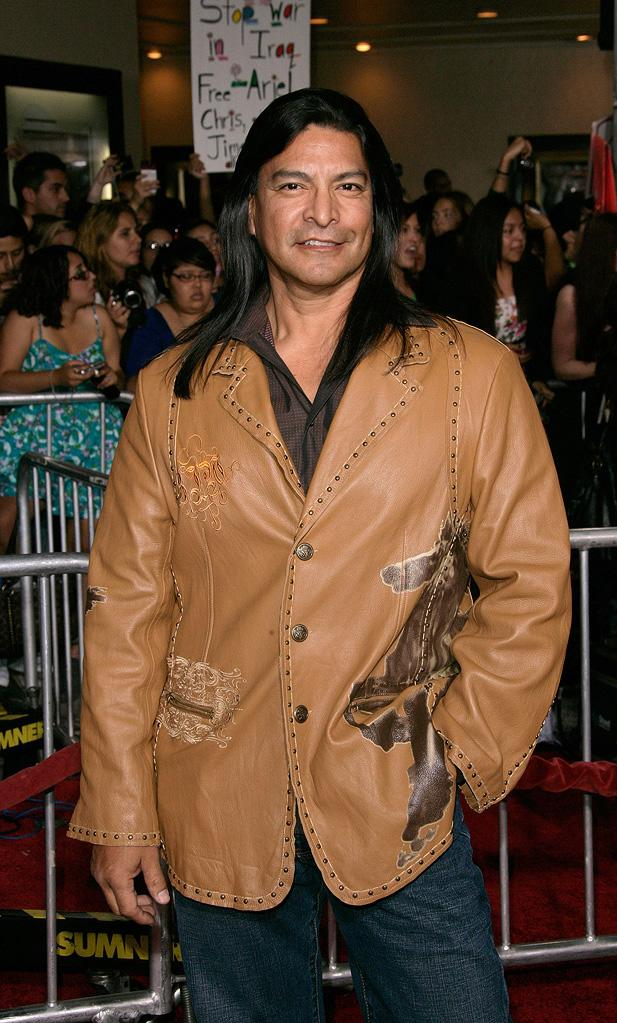 Twilight Saga New Moon LA Premiere 2009 Gil Birmingham