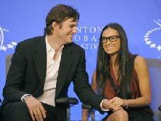 Ashton Kutcher and Demi Moore  -- AFP/Getty Images