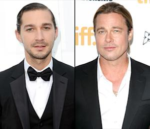 Brad Pitt, Shia LaBeouf Went Camping With Fury Costars in England