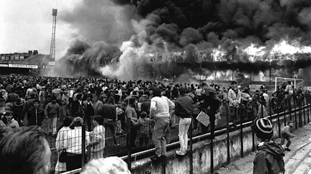 The fire at Valley Parade killed 56 people in 1985
