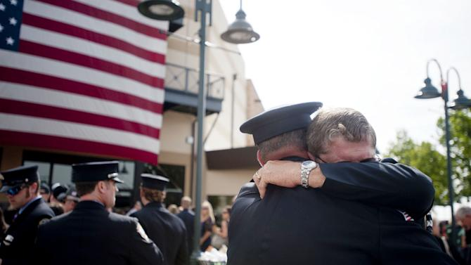 Memorial Service Honors 19 Elite Firefighters Killed In Arizona Wildfire