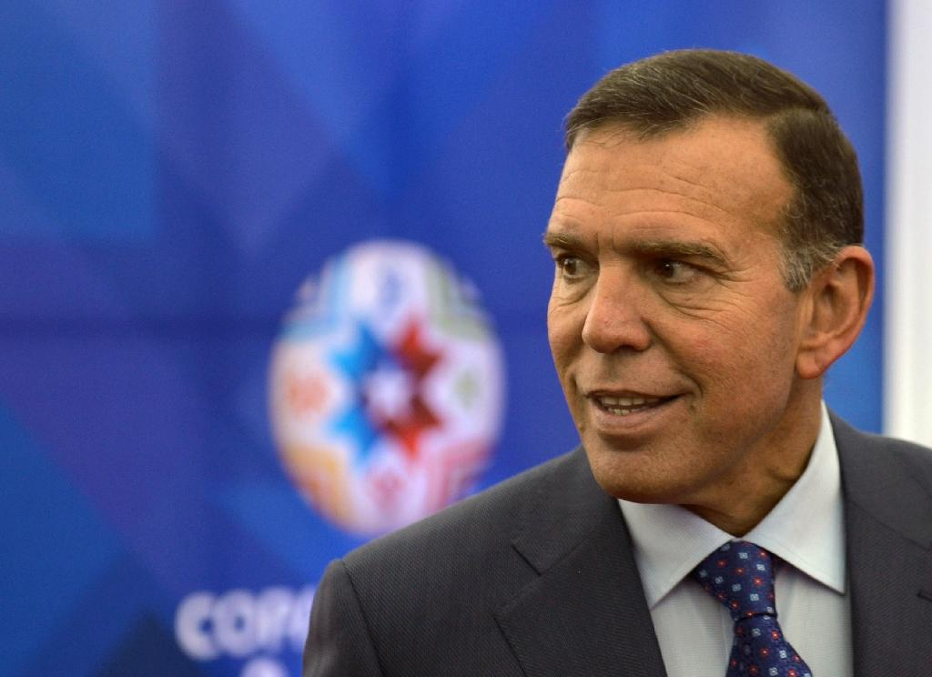 Napout re-elected as CONMEBOL president