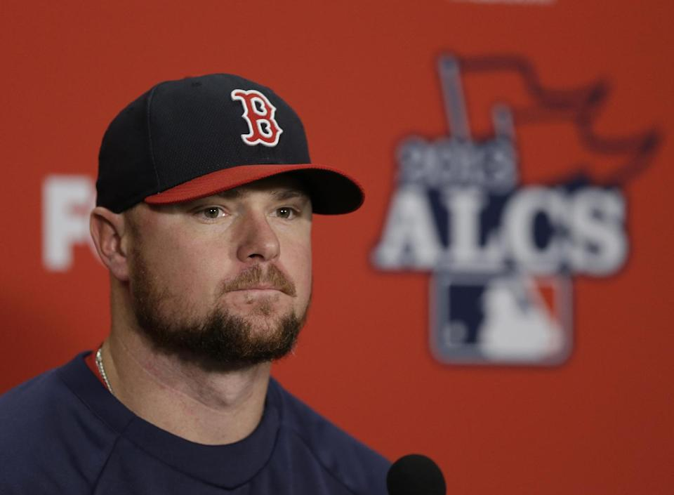 Lester to start Game 1 of World Series for Red Sox