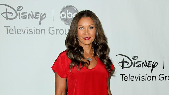 """FILE - In this July 27, 2012 file photo, actress Vanessa Williams arrives at the Disney ABC Television Group 2012 Summer Press Tour All-Star Cocktail Reception, in Beverly Hills, Calif. Williams, Cuba Gooding Jr. and Condola Rashad will be joining Cicely Tyson in the play, """"The Trip to Bountiful."""" Opening night is set for April 23, 2013. (Photo by Matt Sayles/Invision/AP, File)"""