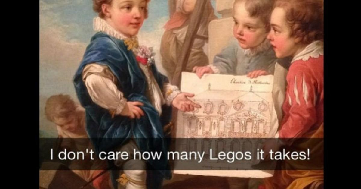 18+ Art History Snaps That Accurately Describe You