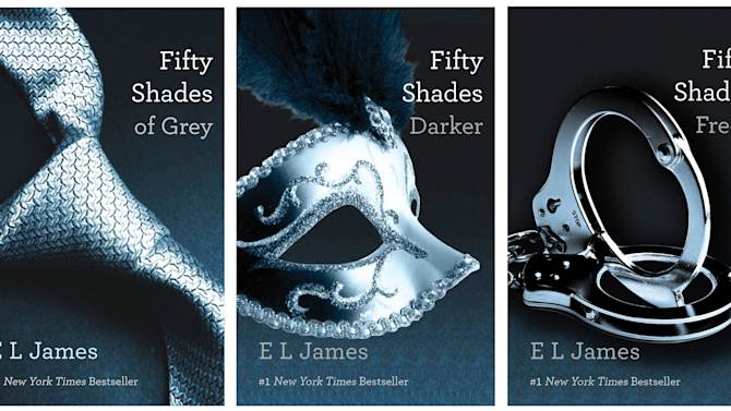 'Fifty Shades' dominates publishing in 2012