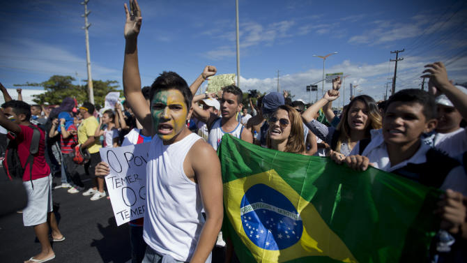 Brazil calm, but discontent still simmers
