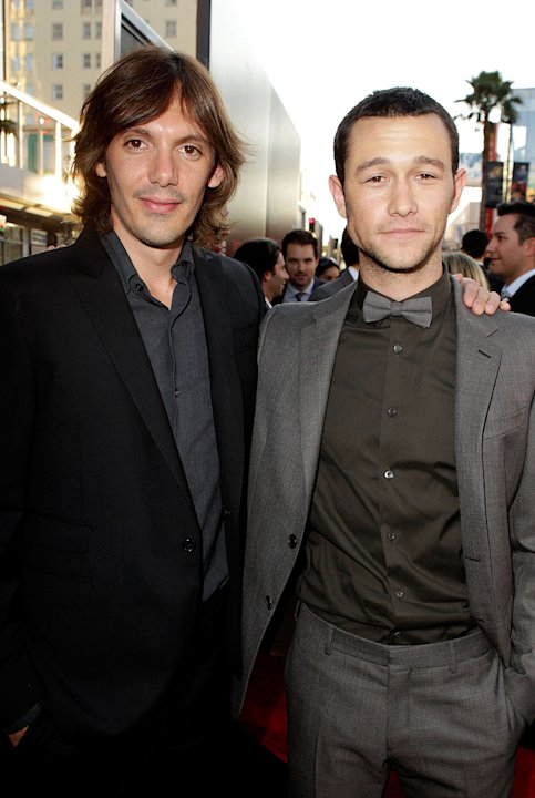 Inception LA premiere 2010 Lukas Haas Joseph Gordon Levitt