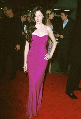 Rose McGowan at the premiere of Warner Brothers' Ready To Rumble