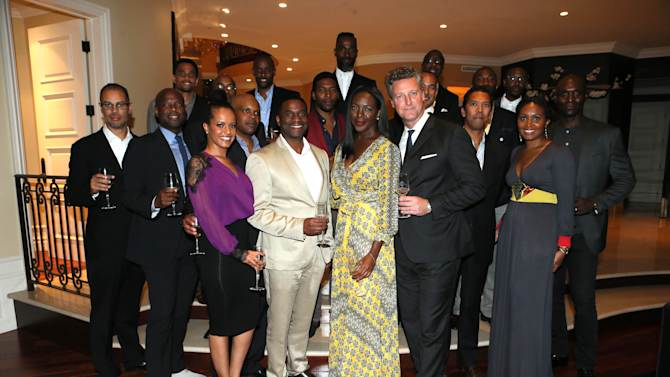Guests at Louis XIII Cognac's Legacy Experience LA with Icon Mann held at a Private residence on Wednesday, October 1, 2014 , in Beverly Hills, CA. (Photo by Alexandra Wyman/Invision for M Collective, LLC/AP Images)