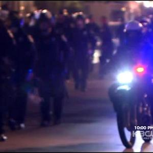 Oakland Protesters Demonstrate Against Police